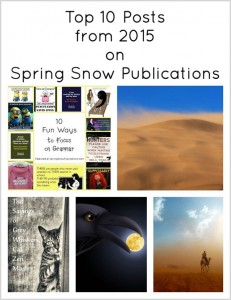 Top 5 Posts from 2015 on Spring Snow Publications
