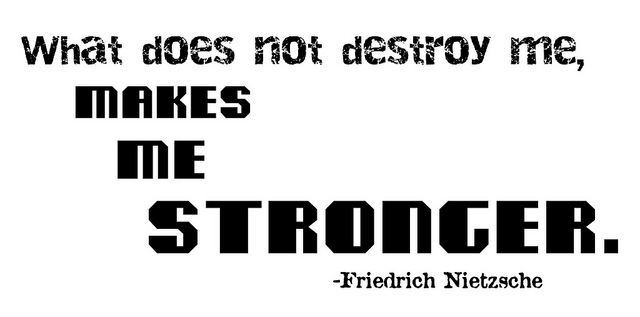 """""""What Does Not Destroy Me"""" Word-Art Freebie"""