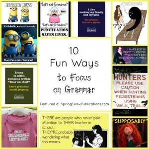 10 Fun Ways to Focus on Grammar