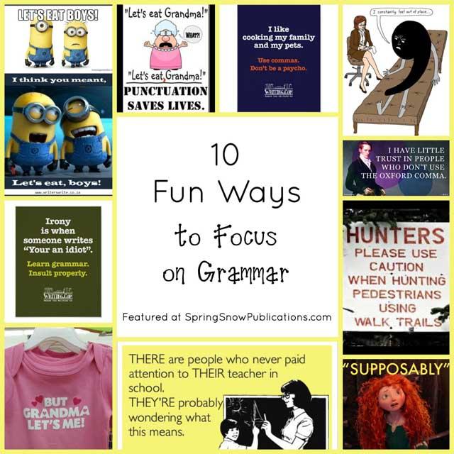 10 Fun Ways to Focus on Grammar